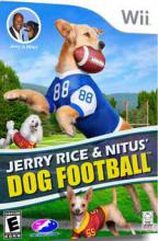 Jerry Rice and Nitus' Dog Football