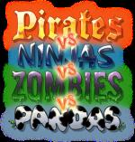 Pirates vs. Ninjas vs. Zombies vs. Pandas
