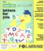 Sesame Street Crayon: Letters For You