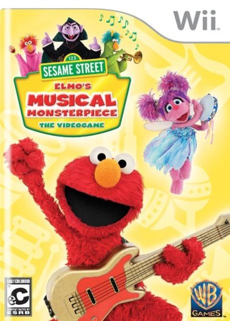 Sesame Street: Elmo's Musical Monsterpiece