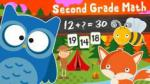 123 Animal Second Grade Math for Kids