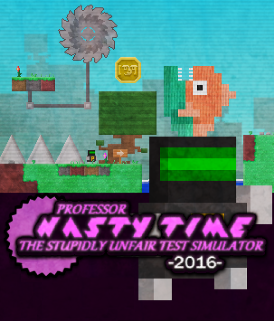 Professor Nasty Time: The Stupidly Unfair Test Simulator 2016
