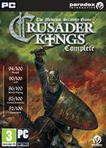 Crusader Kings Complete PC Box Art Coperta