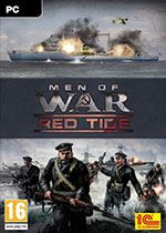 Men of War Red Tide PC Box Art Coperta