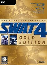 SWAT 4 Gold Edition PC Box Art Coperta