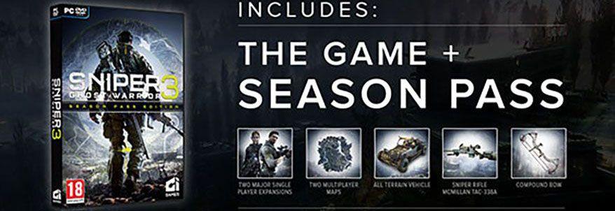 Sniper: Ghost Warrior 3 Season Pass Edition Content