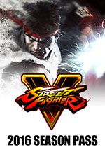Street Fighter V 2016 Season Pass PC Box Art Coperta