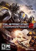 Supreme Commander 2 PC Box Art Coperta
