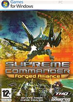 Supreme Commander Forged Alliance PC Box Art Coperta
