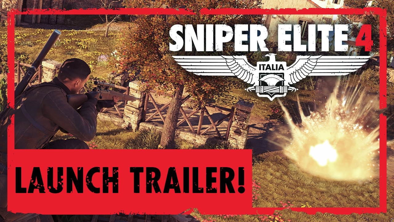 Sniper Elite 4 a primit trailer de lansare