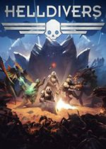Helldivers Box Art Coperta