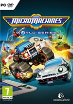 Micro Machines World Series Box Art
