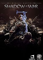 Middle earth Shadow of War Standard Edition PC Box Art