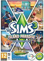The Sims 3 Island Paradise PC Box Art Coperta