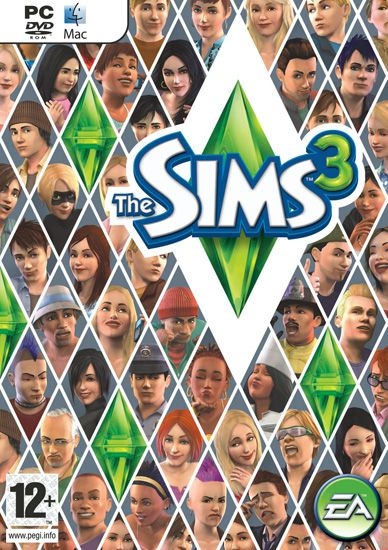 The Sims 3 PC Box Art Coperta