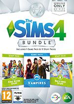 The Sims 4 DLC Bundle 4 PC Box Art Coperta