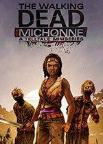 The Walking Dead Michonne A Telltale Games Mini Series PC Box Art Coperta