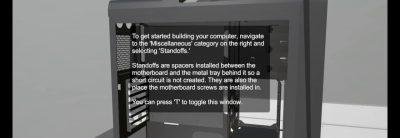PC Building Simulator este un joc despre asamblarea unui PC, versiunea demo acum disponibilă