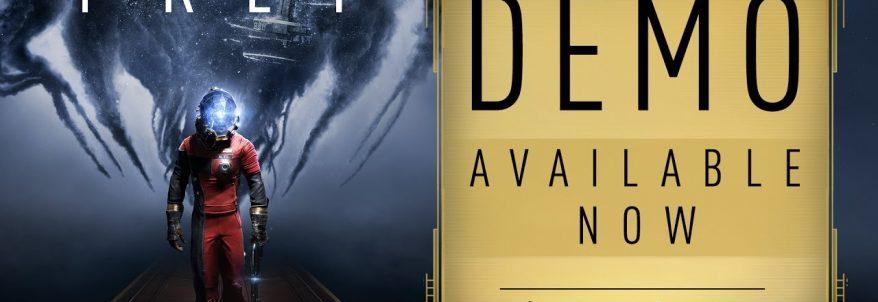 Versiunea DEMO a noului joc Prey este disponibilă pe PlayStation 4 și Xbox One