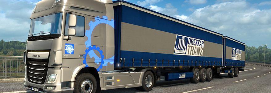 SCS Software anunță introducerea Double Trailers pentru seria Truck Simulator