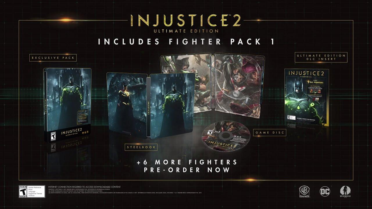 DLC-ul Fighter Pack 1 pentru Injustice 2 dezvăluit printr-un nou trailer