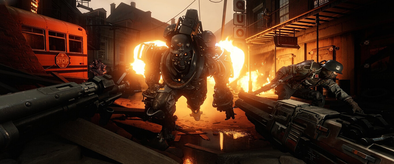 Imagini Wolfenstein II: The New Colossus