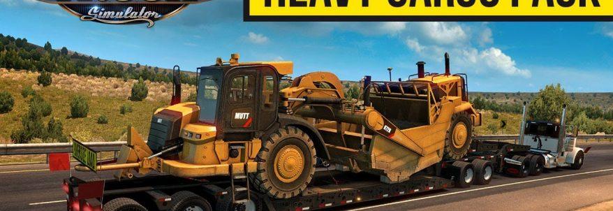 American Truck Simulator – Heavy Cargo Pack DLC Trailer