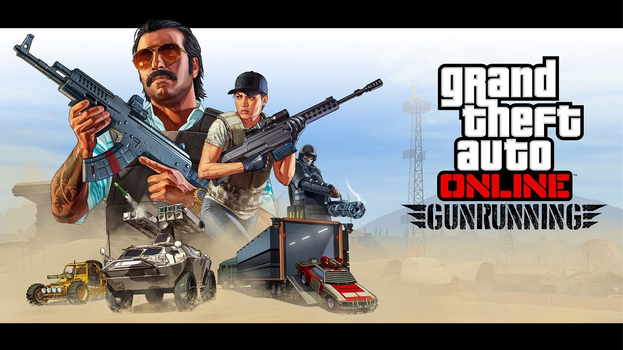 Grand Theft Auto Online: Gunrunning – Trailer