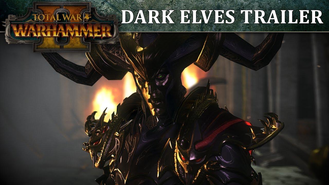 Total War: Warhammer II – Dark Elves In-Engine Trailer
