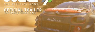 WRC 7 – Citroën C3 Gameplay Trailer