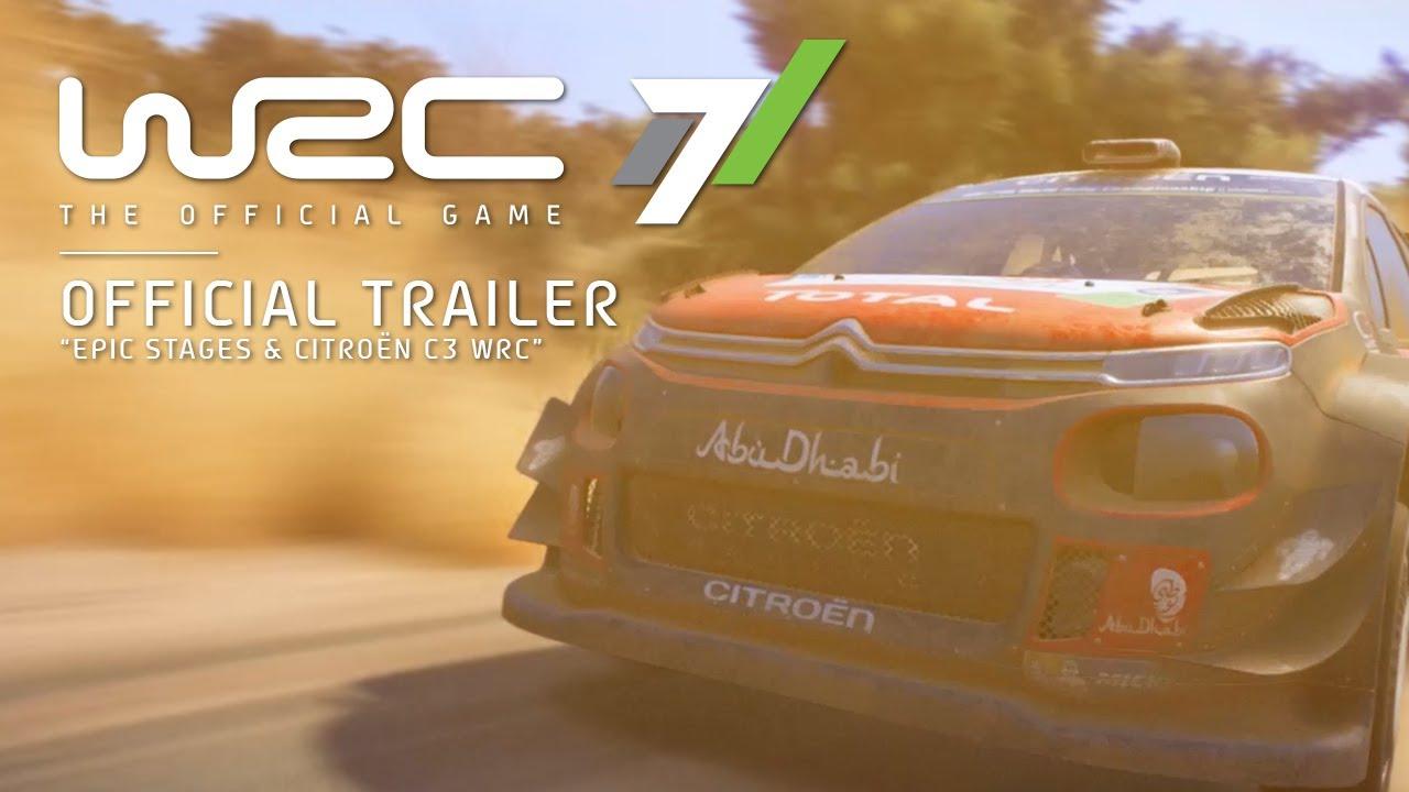 WRC 7 – Citroën C3 Gameplay Trailer
