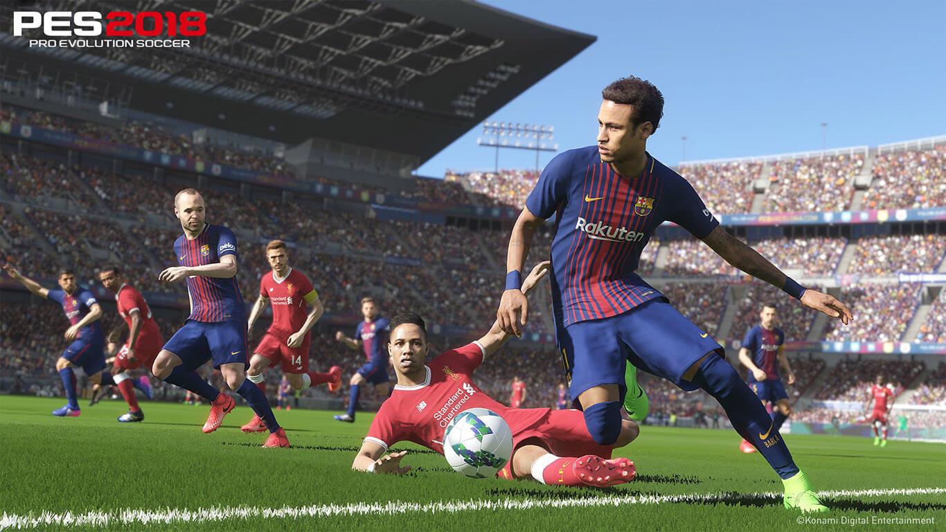 Imagini Pro Evolution Soccer 2018