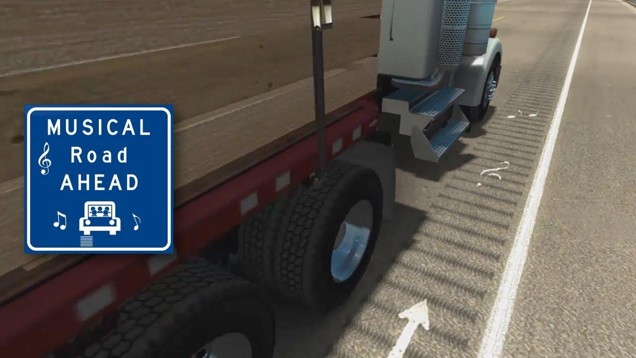 American Truck Simulator – Musical Road