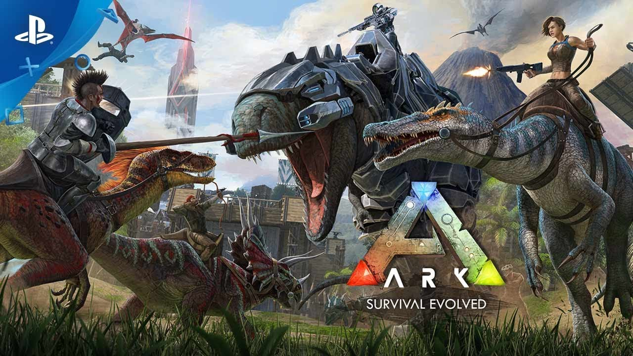ARK: Survival Evolved – Trailer Lansare PS4