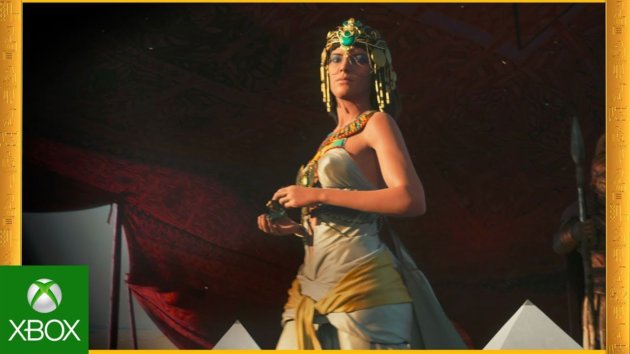 Assassin's Creed: Origins – Gamescom 2017 Cinematic Trailer