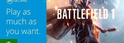 Battlefield 1 – EA Access Vault