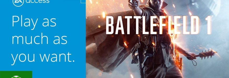 Battlefield 1 - EA Access Vault
