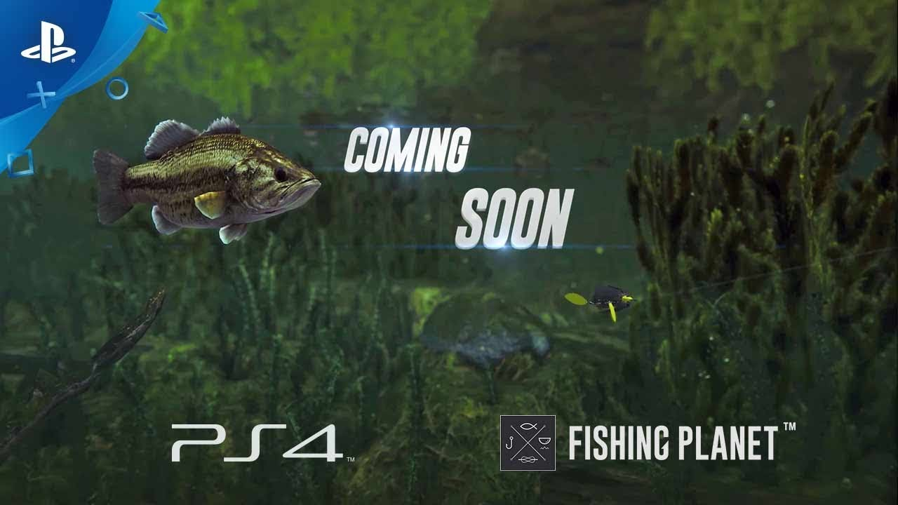 Fishing planet ps4 trailer digital games for Fishing planet game