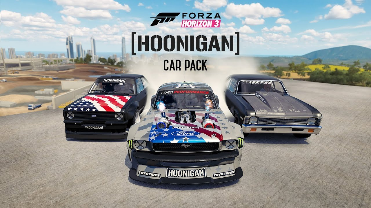 Forza Horizon 3 – Hoonigan Car Pack