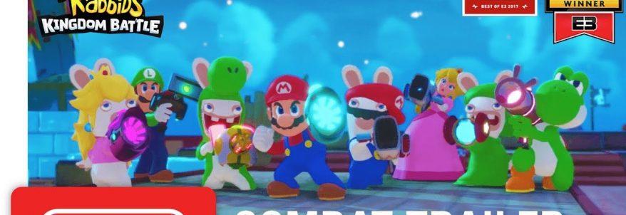 Mario + Rabbids: Kingdom Battle - Gameplay Trailer
