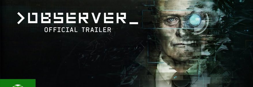 Observer – Trailer Lansare