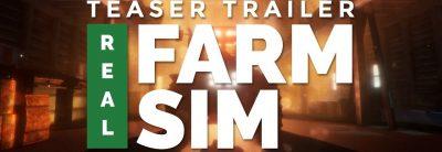 Real Farm Sim – Teaser