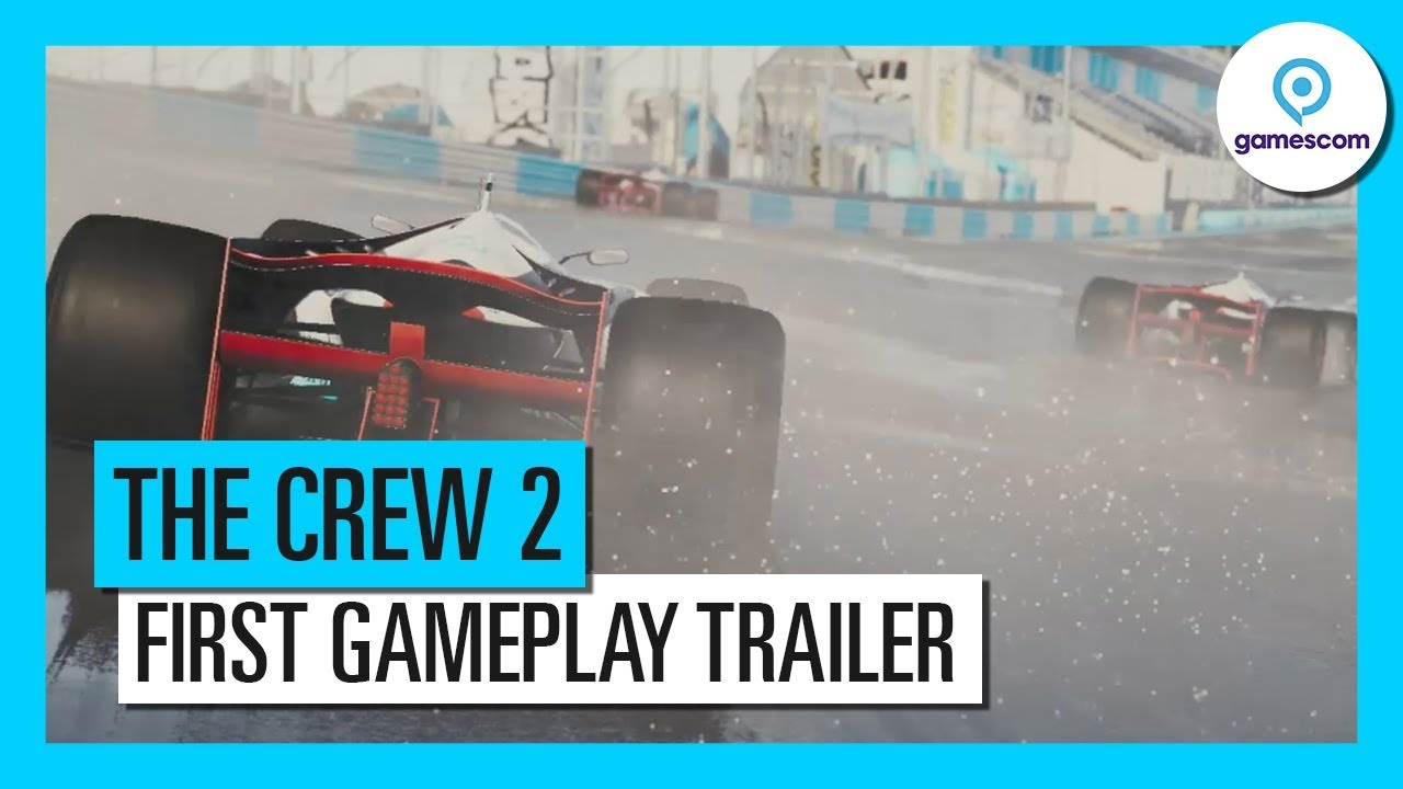 The Crew 2 – Gamescom 2017 Gameplay Trailer