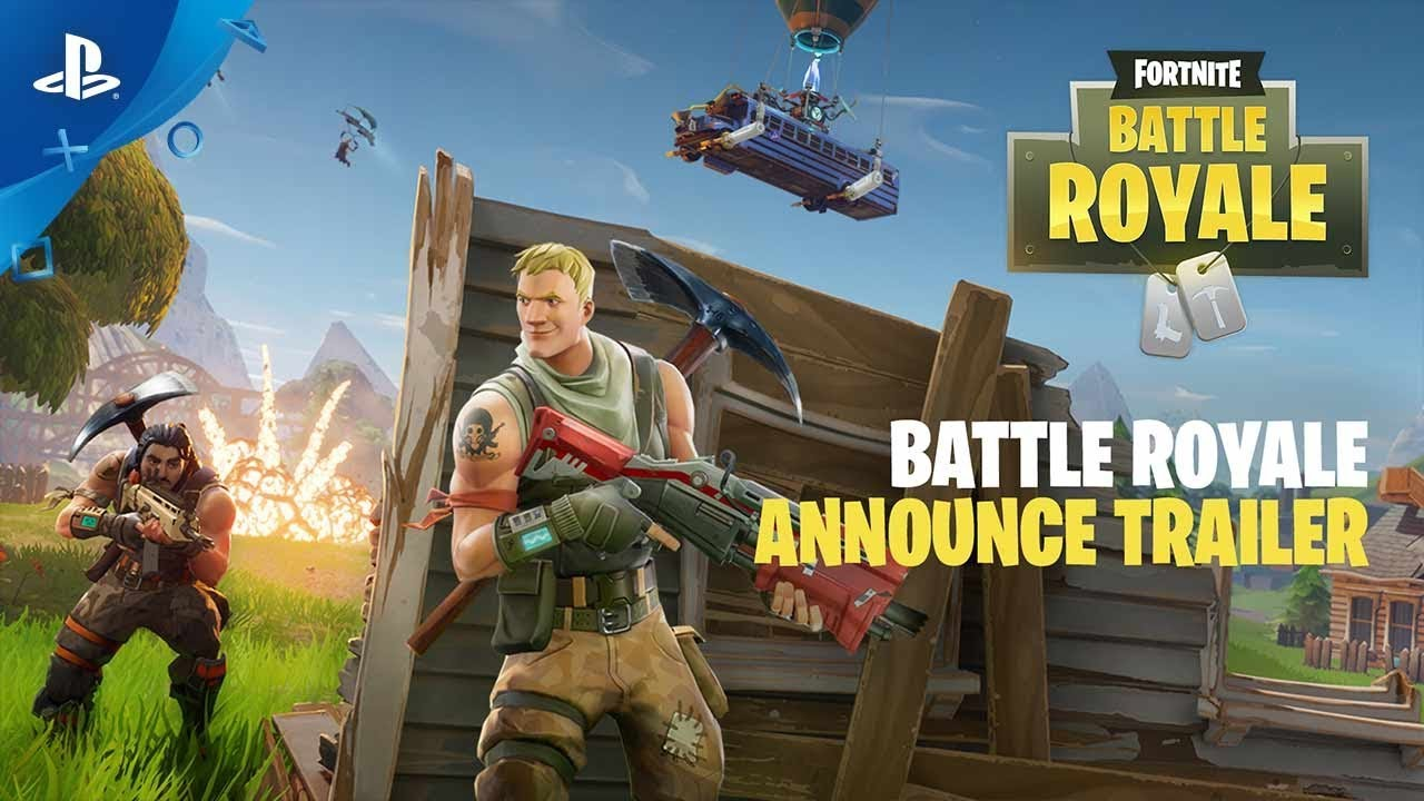 Fortnite – Battle Royale Trailer