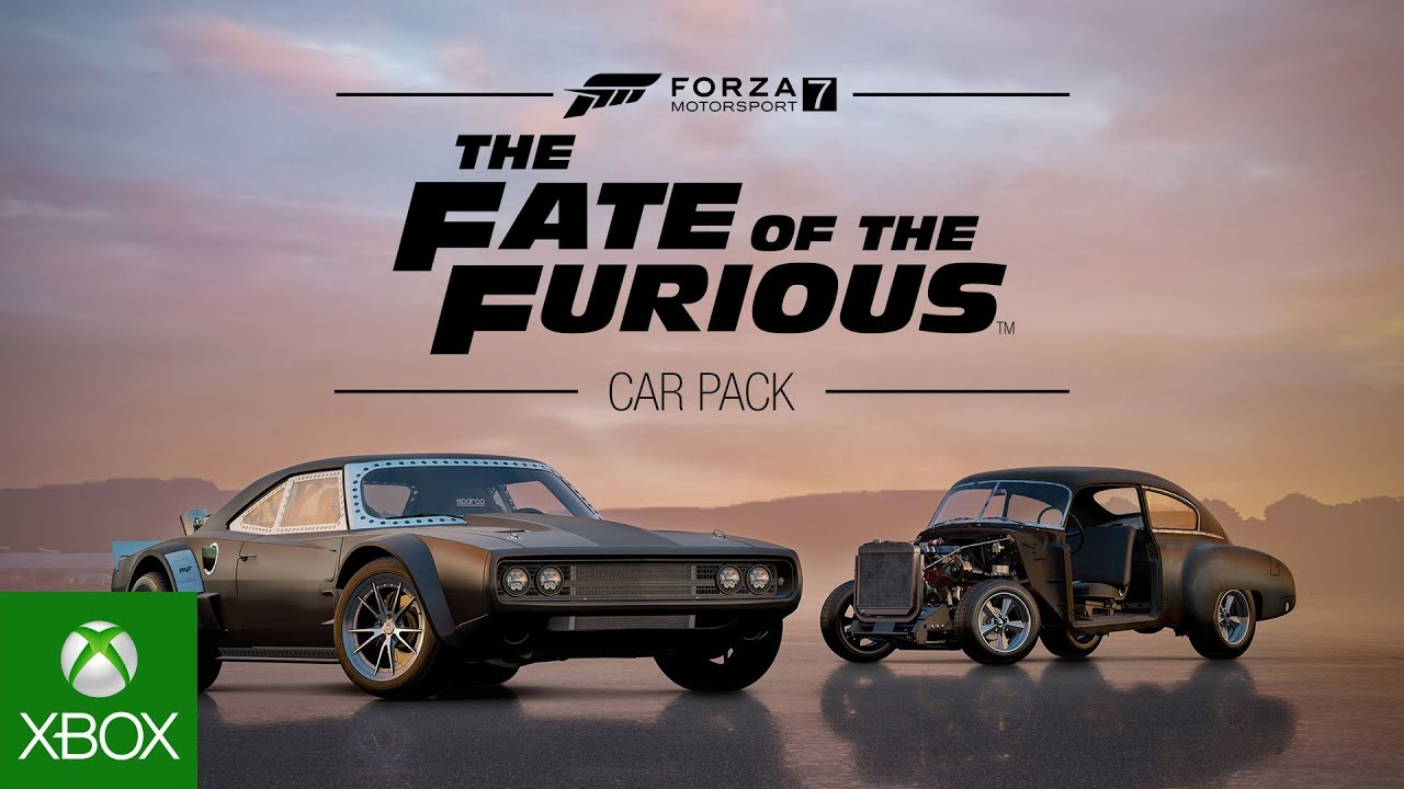 Forza Motorsport 7 – Fate of the Furious Car Pack