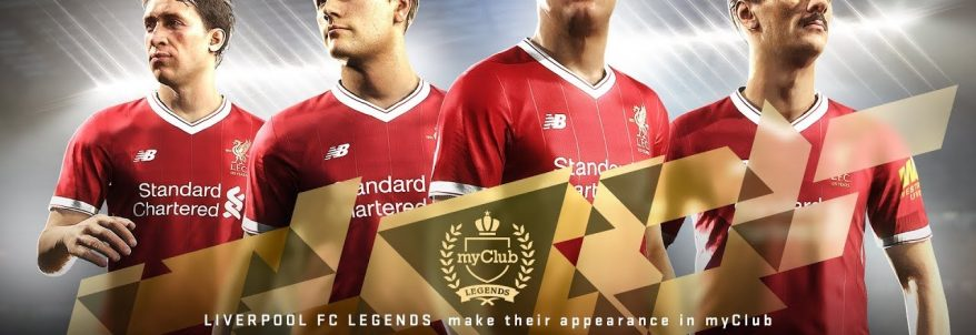 Pro Evolution Soccer 2018 – Liverpool FC Legends Trailer