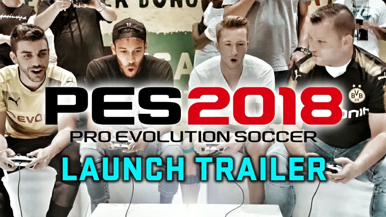 Pro Evolution Soccer 2018 – Trailer Lansare