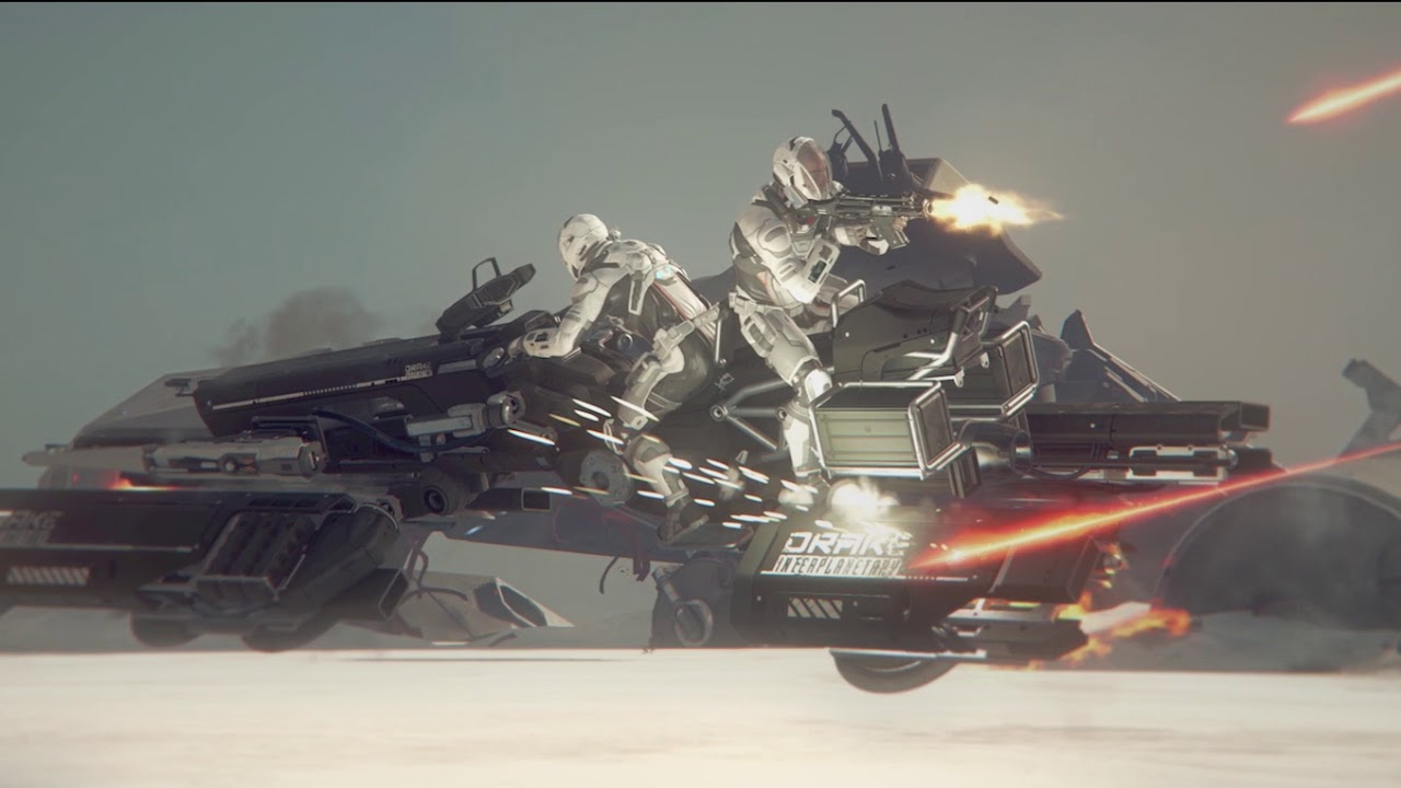 Star Citizen – Meet the Drake Dragonfly