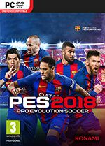 Pro Evolution Soccer 2018 PC Box Art Coperta