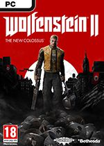 Wolfenstein II The New Colossus Standard Edition PC Box Art Coperta